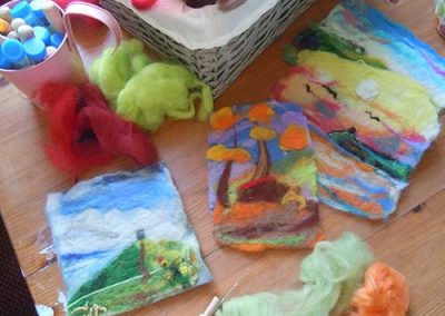 Felting: Woodland Art