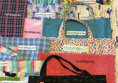 Recycled Bag Sewing