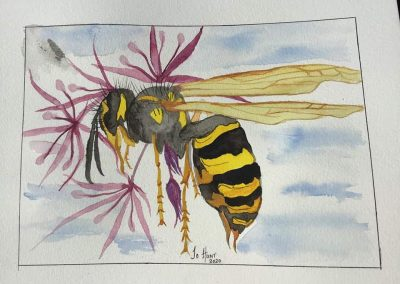 Bee Creative and Time Will Fly – Spring Art Competition