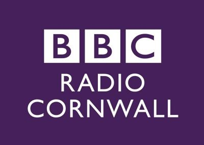 We were on BBC Radio Cornwall