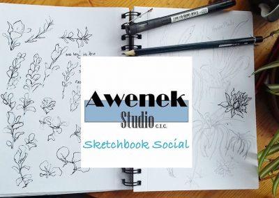 Sketchbook Social: Plein Air (Afternoon session)
