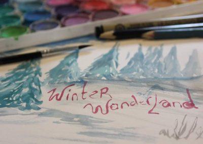 Winter Wonderland Sketchbook Social