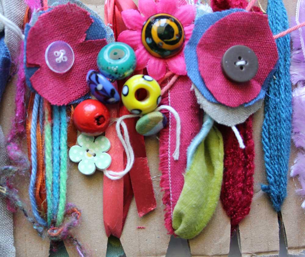 Chunky Braiding & Rag Weaving Family Craft