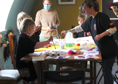 Water Painting, Art & Sensory Crafts
