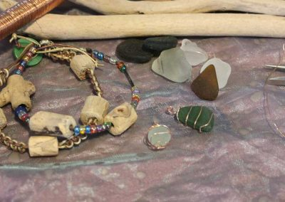 Jewellery Projects: Driftwood and Sea Glass